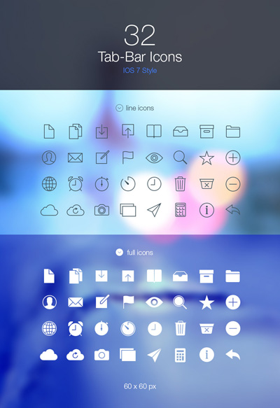 Tab-Bar-Icons-iOS7